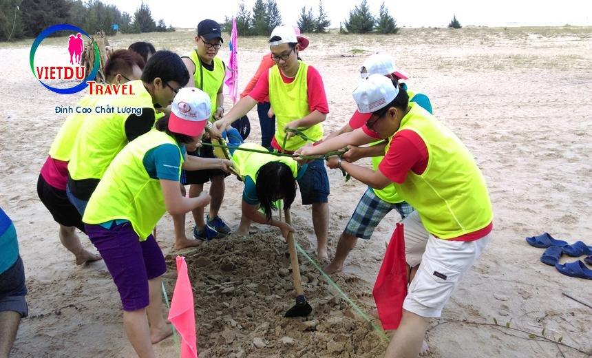 Teambuiding tại Hồ Cốc