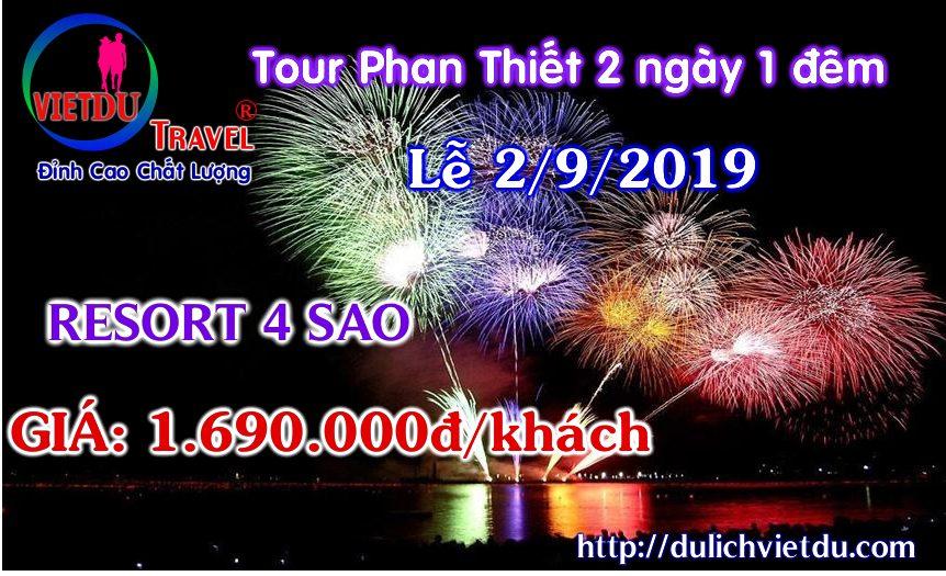 Tour du lịch Phan Thiết Lễ 2/9/2019