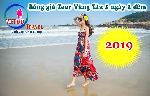 Bảng giá Tour Vũng Tàu 2 ngày 1 đêm 2019
